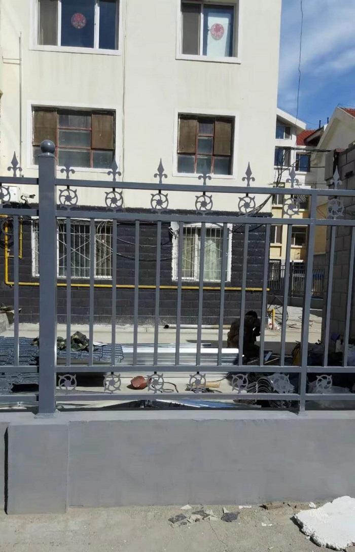 小区 锌钢栅栏
